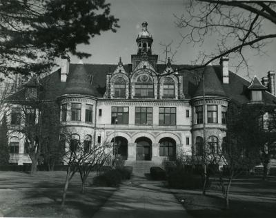 Although Denny Hall has undergone major renovations as recently as 2015, the exterior remains virtually unchanged to this day.