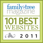Family Tree Magazine Best 101 2011