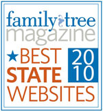 Family Tree Magazine Best State Websites 2010