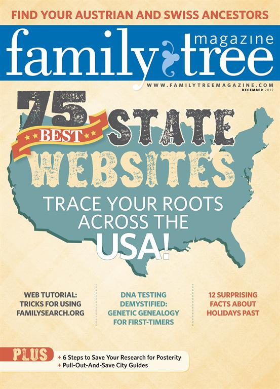 Family Tree Magazine Top 75 2012
